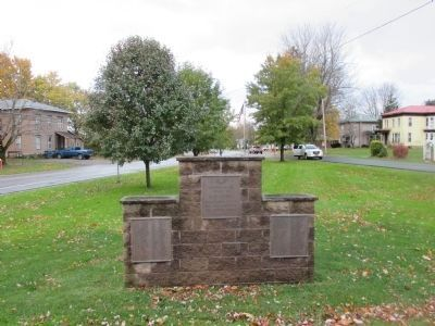 Red Creek Veterans' Memorial - North Side image. Click for full size.