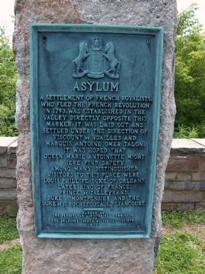 Asylum Marker image. Click for full size.