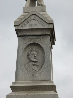 Malone Civil War Monument image. Click for full size.