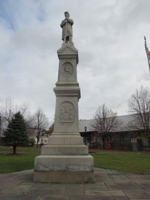 Malone Civil War Monument - Front image. Click for full size.