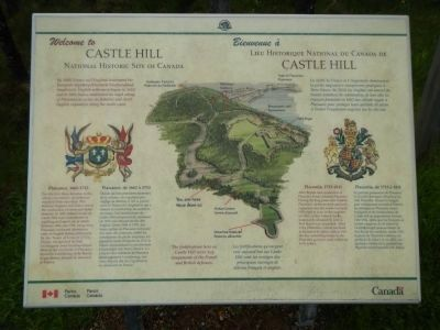Castle Hill Marker image. Click for full size.