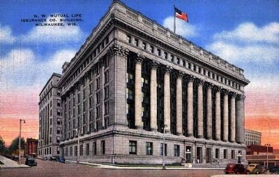 <i>N.W. Mutual Life Insurance Co. Building, Milwaukee, Wis.</i> image. Click for full size.