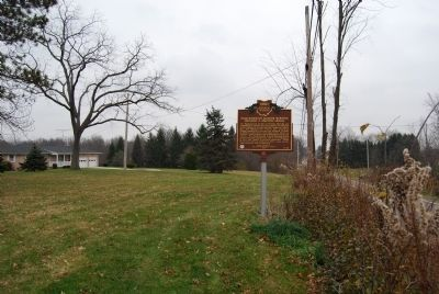 Marlborough Quaker Burying Grounds & Meeting House Marker image. Click for full size.