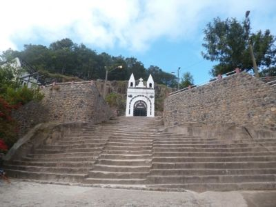 Grotto of La Esperanza and Steps image. Click for full size.