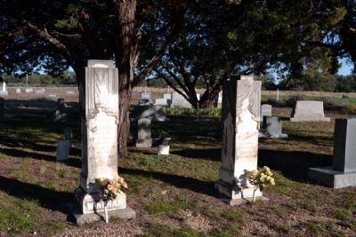 Grave Sites of Dr. and Mrs. J.D. Windham image. Click for full size.