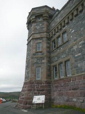 Cabot Tower Marker image. Click for full size.