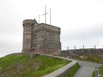 Cabot Tower image. Click for full size.
