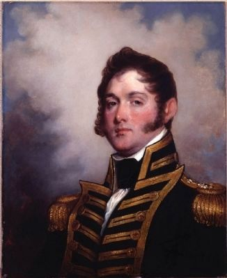 Oliver Hazard Perry (1785&#8211;1819)<br>The Hero of Lake Erie image. Click for full size.