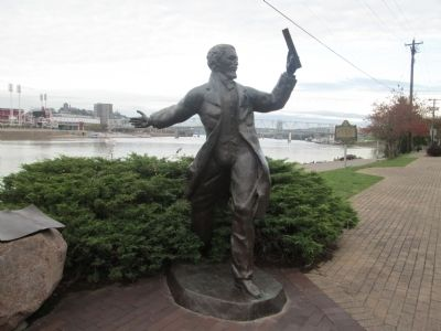 Roebling Statue image. Click for full size.