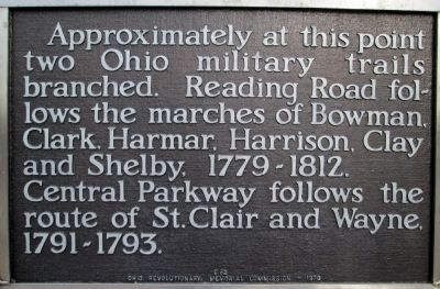 Military Roads Marker image. Click for full size.