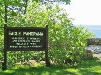 Eagle Panorama Sign image. Click for full size.