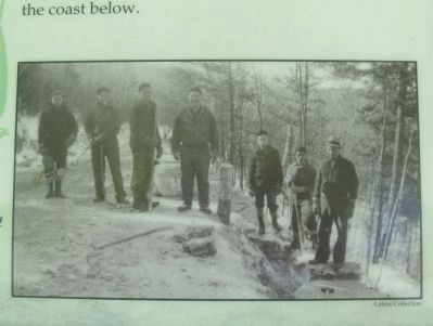 Close-up of Civilian Conservation Corps Photo image. Click for full size.