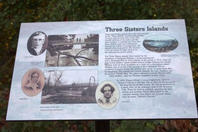 Three Sisters Islands Marker image. Click for full size.