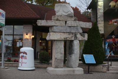 The Inukshuk Marker image. Click for full size.