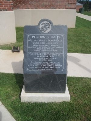 Pokorney Hall Marker image. Click for full size.