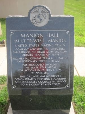 Manion Hall Marker image. Click for full size.