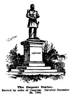 The Dupont Statue image. Click for full size.
