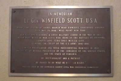 Lt. Gen. Winfield Scott, U.S.A. image. Click for full size.