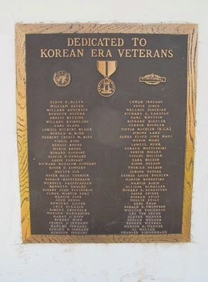 Korean Era Plaque image. Click for full size.