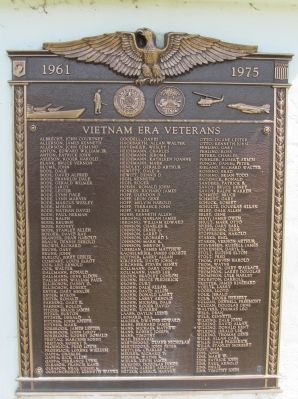 Vietnam Era Plaque image. Click for full size.