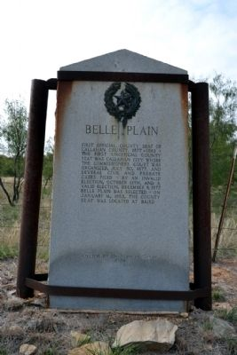 Belle Plain Marker image. Click for full size.