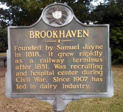 Brookhaven Marker image. Click for full size.
