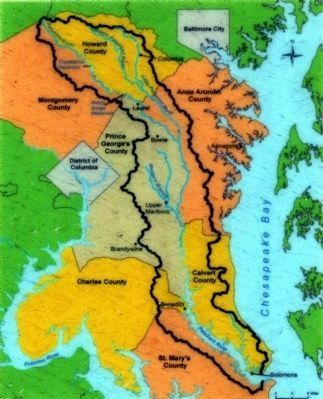 Patuxent River Watershed image. Click for full size.