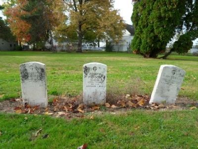 Cholera Cemetery / In Honor of the Doctors Marker image. Click for full size.