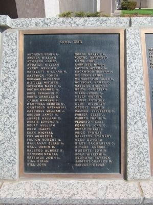 Civil War Plaque image. Click for full size.