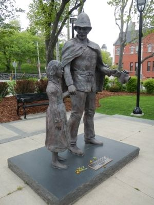 Royal Newfoundland Constabulary Monument image. Click for full size.