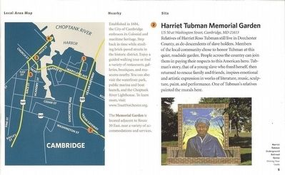 Harriet Tubman Memorial Garden-Celebrating an Icon image. Click for full size.