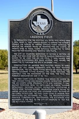 Arledge Field Marker image. Click for full size.