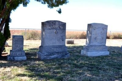 Burial Place of William and Birdie Bean in Spring Creek Cemetery image. Click for full size.