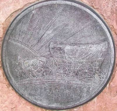 Pikes Peak Trail 1842 Medallion image. Click for full size.