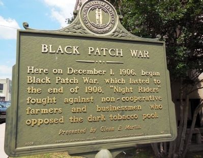 Black Patch War Marker image. Click for full size.