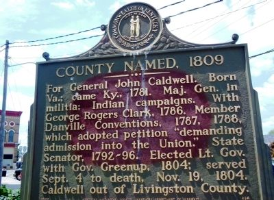 Courthouse Named 1809 Marker image. Click for full size.