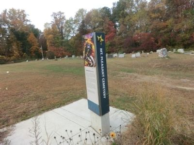 Mt. Pleasant Cemetery-Dangerous Rendezvous Marker image. Click for full size.