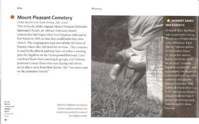 Mt. Pleasant Cemetery-Auto Tour Guide image. Click for full size.