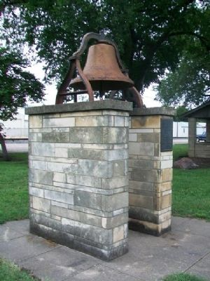 Old Fire and Curfew Bell and Marker image. Click for full size.