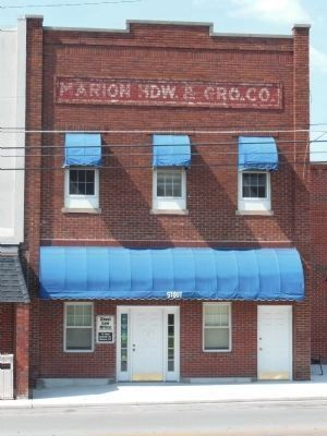 Marion Hardware & Grocery Company image. Click for full size.