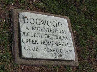 Bicentennial Dogwood Marker image. Click for full size.