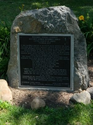 Historic Burial Grounds Marker image. Click for full size.
