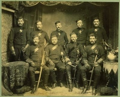 <i>Newfoundland Constabulary Mounted Force</i> image. Click for full size.