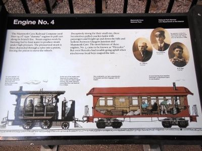 Engine No. 4 Marker image. Click for full size.