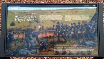 Attacking the High Ground Marker image. Click for full size.