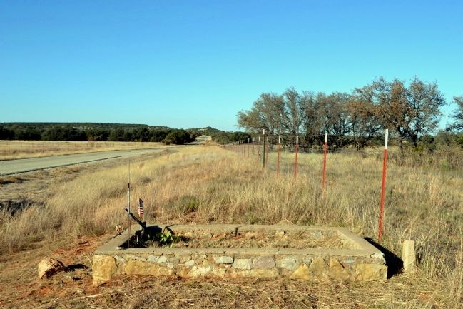 View to North Along FM 382 image. Click for full size.