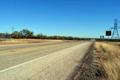 View to Southeast Towards<br>Intersection of SH 153 and FM 382 image. Click for full size.