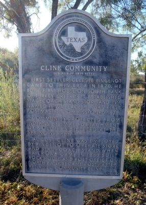 Cline Community Marker image. Click for full size.