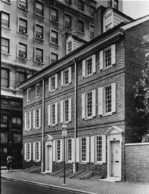 <i>GENERAL VIEW - Dilworth-Todd-Moylan House, 343 Walnut Street, Philadelphia…</i> image. Click for full size.