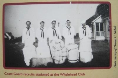 Picture from The Whalehead Club Marker image. Click for full size.